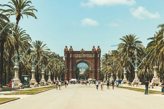 Arc de Triomf barcelona spanje