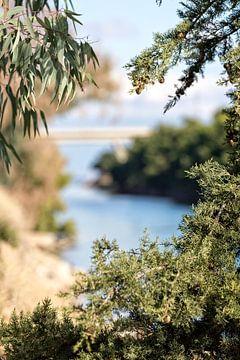 Mooi uitzicht in Griekenland van Miranda van Hulst