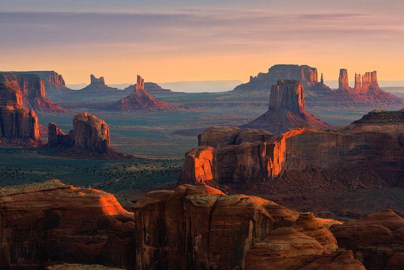 Hunt's Mesa, Monument Valley, USA van Henk Meijer Photography