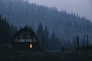 Oud landhuis in Canada