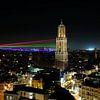 Sol Lumen gezien vanaf de Neudeflat in Utrecht van Donker Utrecht