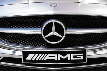 Mercedes Benz SLS AMG-Logo von Dennis van de Water
