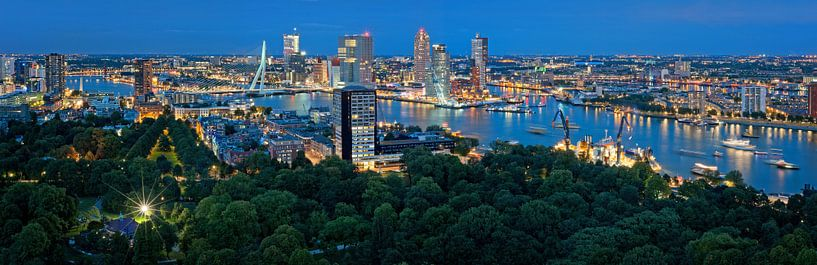 Rotterdam Wereldhavendagen 2013 / Panorama van Rob de Voogd / zzapback