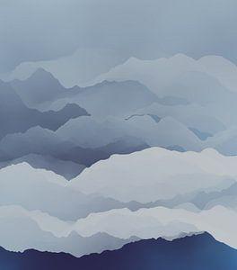 Belles montagnes 2 sur Angel Estevez
