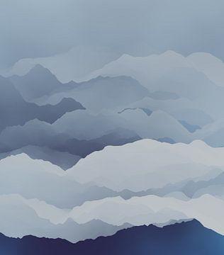 Prachtige bergen 2 van Angel Estevez