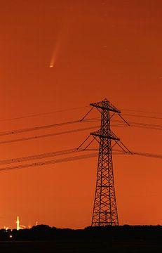 Neowise Comet Rotterdam Pays-Bas. sur Stefan Vis