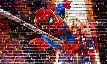 LEGO Marvel Spiderman Graffiti-Sammlung 2 von Bert Hooijer