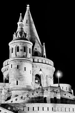 Turm der Fischerbastei Budapest von Andreea Eva Herczegh