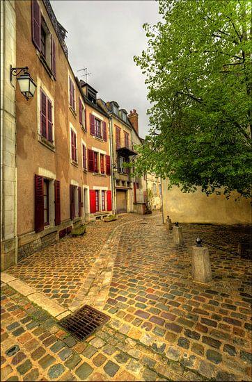 Rue de Mont Brenn, Auxerre van Hans Kool