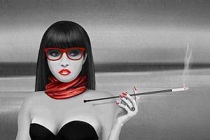 Smoking Lady von