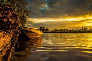 Golden Boat van Edwin Hoek