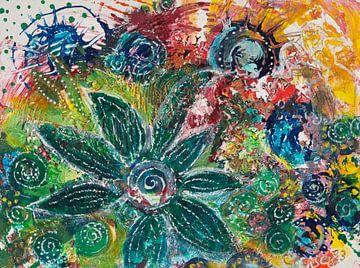 Junglefower von Carmen Eisele
