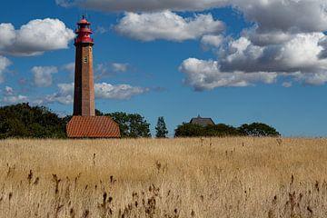 Insel Fehmarn, Leuchtturm, Fehmarn-eiland, vuurtoren von Karin Luttmer