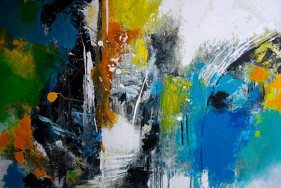 Farbexplosion van Claudia Neubauer