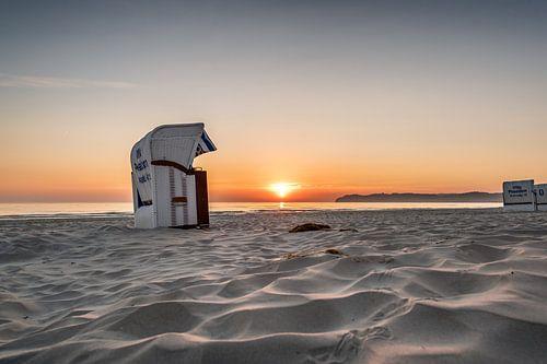 Ostseestrand im Ostseebad Binz auf der Insel Rügen