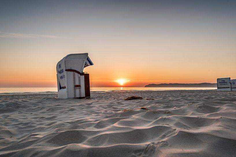 Ostseestrand im Ostseebad Binz auf der Insel Rügen von Mirko Boy