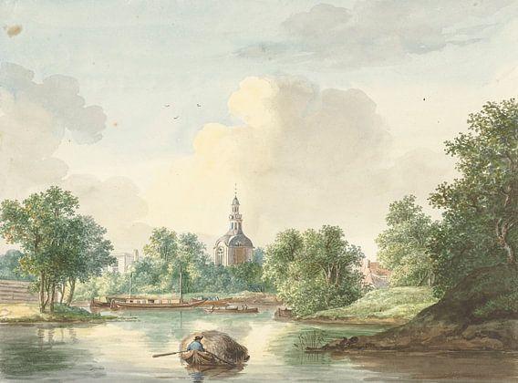 Le Hogerwoerdse Poort à Leyde du Singel, Pieter Gerardus van Os.