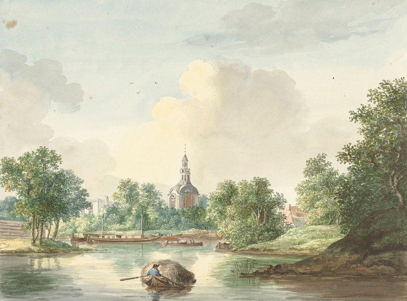 Le Hogerwoerdse Poort à Leyde du Singel, Pieter Gerardus van Os. sur Meesterlijcke Meesters