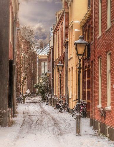 Anton Pieck straatje in Utrecht van