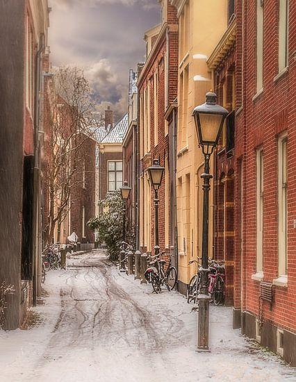 Anton Pieck straatje in Utrecht van Robin Pics