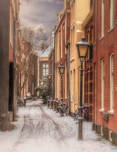 Anton Pieck straatje in Utrecht van Robin Pics (verliefd op Utrecht)