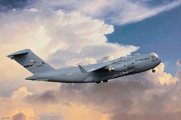 C-17 Boeing Globemaster III, USA van Gert Hilbink