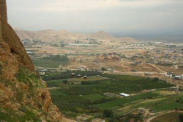 Le Mont de la Tentation de Jésus-Christ près de Jéricho. sur Michael Semenov