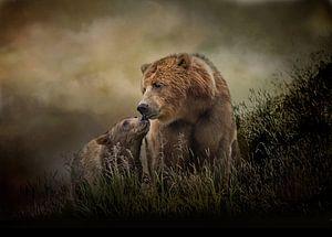 Grizzlybeer Met Jong van