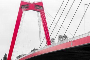 Willemsbrug in Rotterdam van Eugenlens