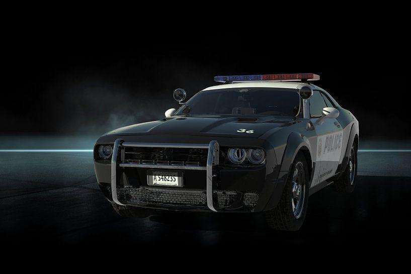 Metro Police Car front van H.m. Soetens