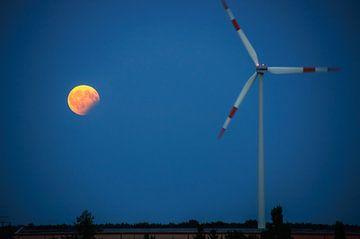 Mondfinsternis van Georg Tausche