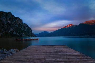 Sonnenuntergang am Gardasee von Faeline Creations