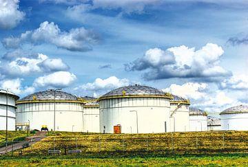 Lagertanks in Rozenburg von BDG pics