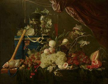 Jan Davidsz de Heem, Pronkstilleven met fruit en een juwelenkist sur