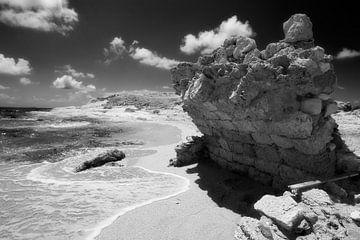 Argeologisches Stück, Pigadia, Karpathos, Griechenland von Peter Baak