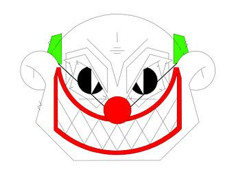 Clown von Marcel Kerdijk