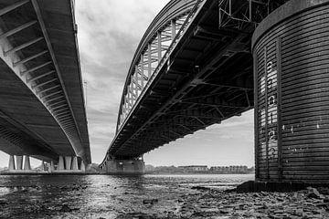 Brücken über den Fluss Lek Vianen von Eugene Winthagen