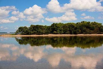 Île dans le Grevelingen