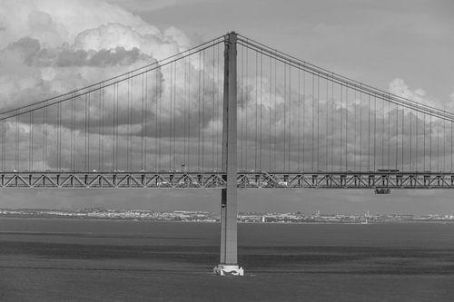 Ponte 25 de Abril in Lissabon von MS Fotografie
