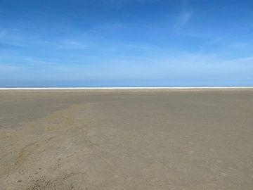 Stranddag alleen van matthijs iseger