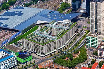 Aérienne Groothandelsgebouw Rotterdam sur Anton de Zeeuw