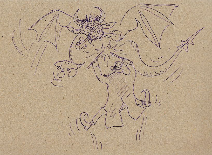 Ein Zauberer und seine Drache von Wieland Teixeira