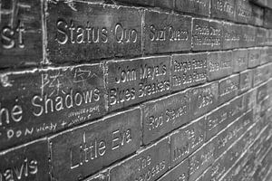 Wall of Fame at the Cavern Club van Ad van Beek