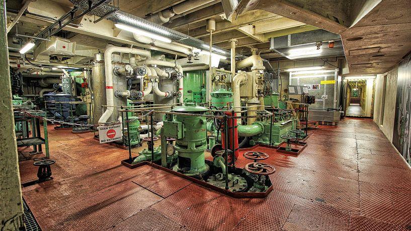 machinekamer van Maurice Hoogeboom