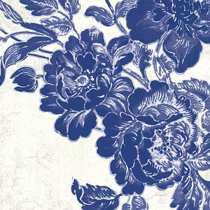 Roses V Toile, Sue Schlabach