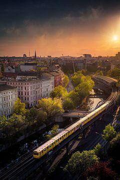 Berlijn Tram 2020 van Iman Azizi