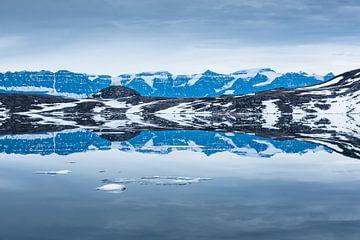 Schwimmende Berge von Leendert Noordzij Photography