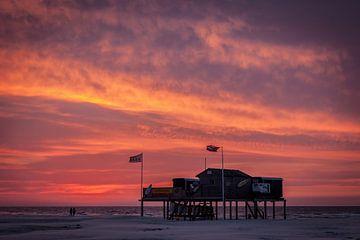 Strandwacht Schiermonnikoog von Martijn van Dellen