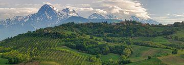 Italien - Parco Nazionale del Gran Sasso (Nationalpark) von Teun Ruijters