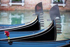 Gondeln in Venedig von